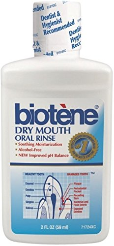 - Biotene Dry Mouth Oral Rinse, 2 oz (Pack of 4)
