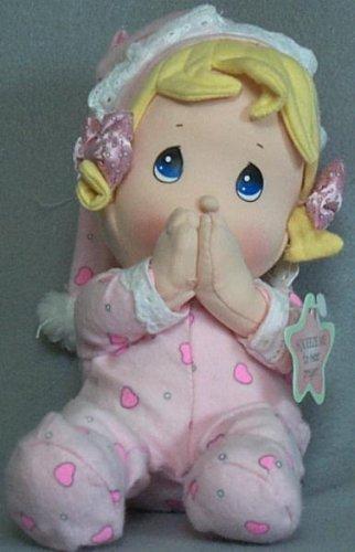 [Precious Moments Prayer Pal Doll - Girl] (Precious Moments Angel Doll)