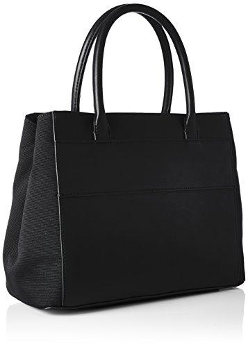 Tommy Hilfiger Logo Story Tote - Bolsos de mano Mujer Negro (Black)