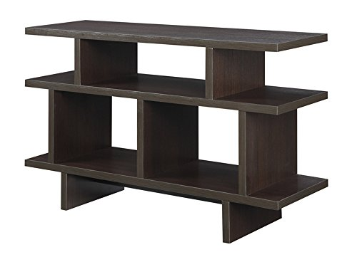 Convenience Concepts Designs2Go Key West TV Stand Console, 48-Inch, Espresso