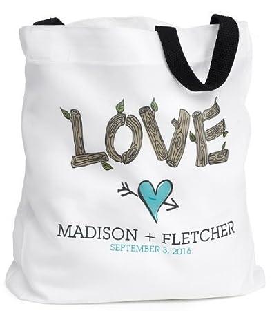 Amazon Raebella New York Rustic Love Personalized White