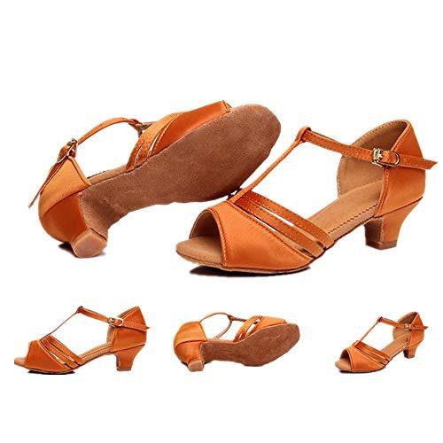 unyielding1 Ballroom Dance Shoes Women Flared Heel Latin
