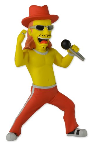 NECA The Simpsons 25th Anniversary - Series 1 - Kid Rock Action Figure, 5