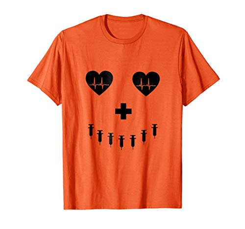 Mens Pumpkin Costume t-shirt for student nurses, RNs