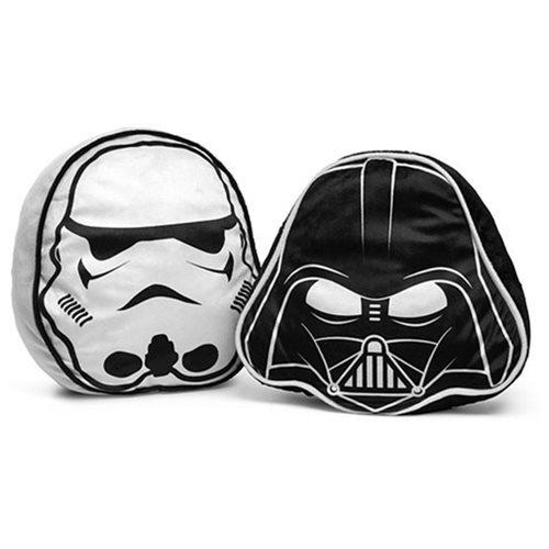 Star Wars Pillow Darth Vader Pillow & Stormtrooper Pillow Set (Pair)