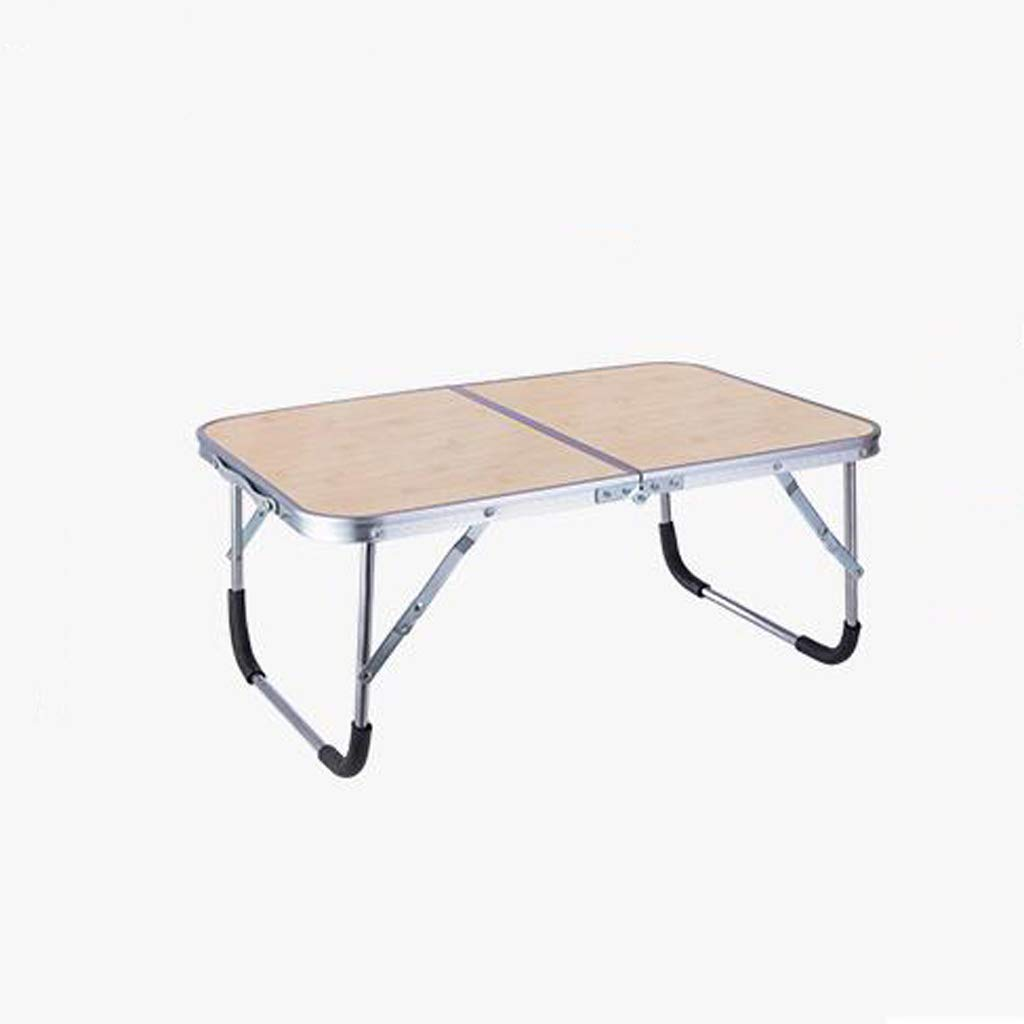SYDDP Portable Laptop Table Bed Desk Lazy Folding Table Dormitory Table 61cm×41cm×27cm (Color : C)