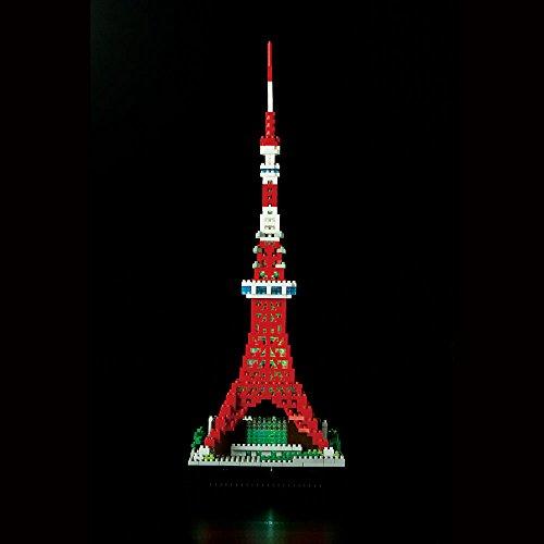 nanoblock Tokyo Tower Deluxe Edition NB-018 by Kawada (Image #12)