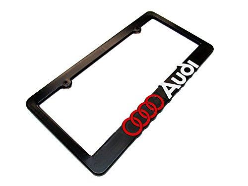 AUDI License Plate Frame Black
