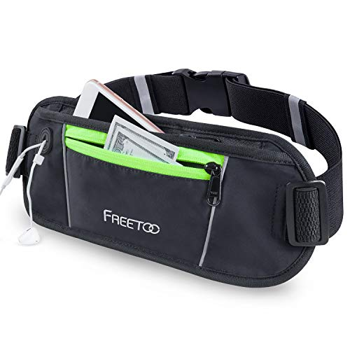 FREETOO Running Belt, Running Waist Pack Bounce...