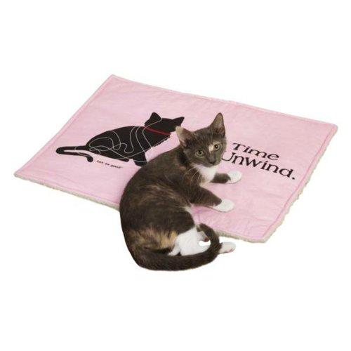 Cat Is Good Cat Mat, Pink