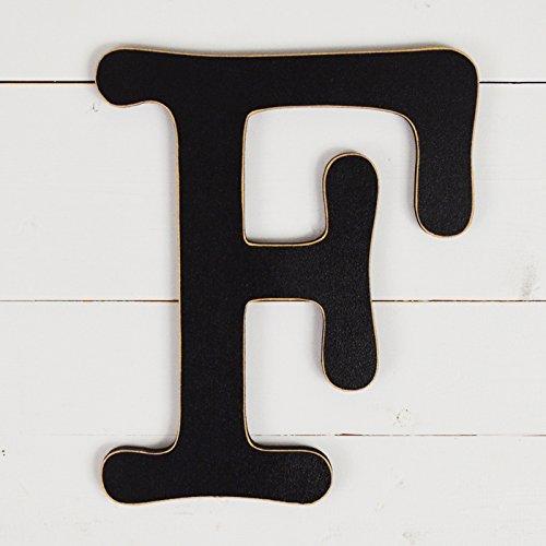 UNFINISHEDWOODCO 11.5'' Typewriter Wall Decor Letter F- Black by UNFINISHEDWOODCO (Image #1)