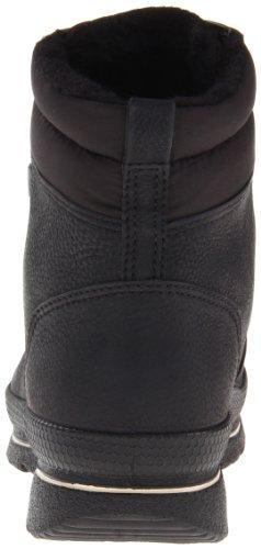 Ecco Hill Black/Black Quarry/Textile - Botines de material sintético mujer negro - Schwarz (BLACK/BLACK)