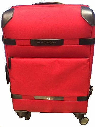 Piquadro Move2 Laptop Rollkoffer,  Rot (Rosso)