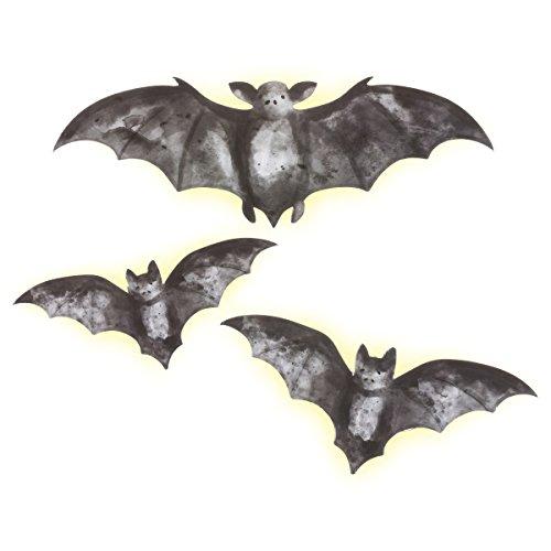 Martha Stewart Chipboard Bats with LED Lights -