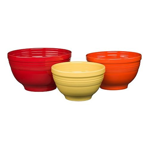 Homer Laughlin 96741628 Baking Bowl Set Bright from Homer Laughlin