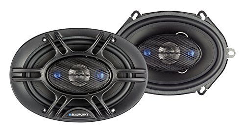 Blaupunkt 5 x 7-Inch 360W 4-Way Coaxial Car Audio Speaker, Set of 2
