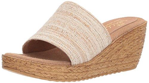 Sbicca WoMen Fairy Slide Sandal Natural