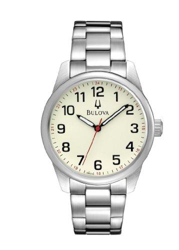 Bulova 96A140 Men's Analog Round Watch Stainless Steel Bracelet
