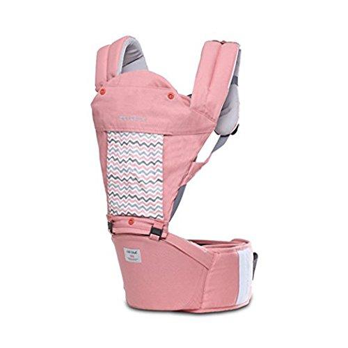 SINNAYEO - Stella Pure Organic Hip Seat Carrier (Aurora Pink) by SINNAYEO