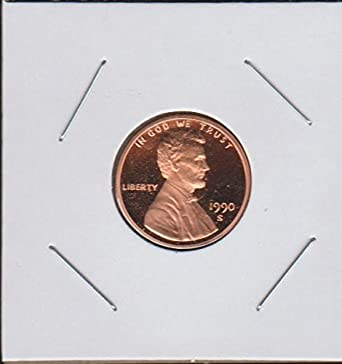 1990 S Lincoln Memorial (1959-2008) Penny Superb Gem Proof