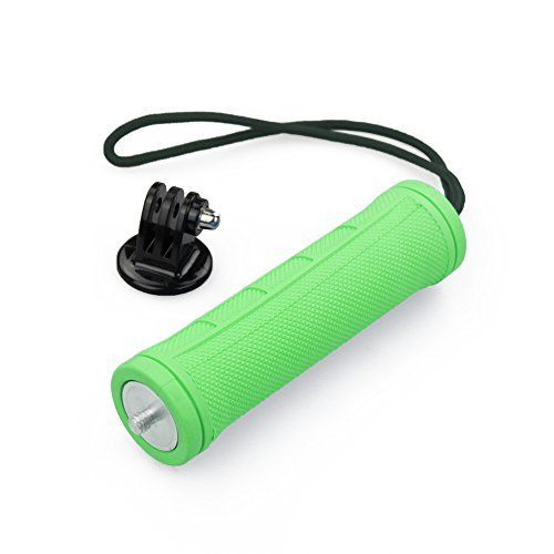 Flylinktech® Self-portrait Grenade Grip Handgrip Holder Stabilizer Pole handheld monopod for camera + Gopro hero 3+,3,2,1 (Green)