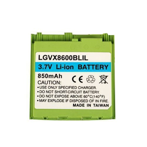 (Technocel Lithium Ion Standard Battery for LG 8600 - Lime)