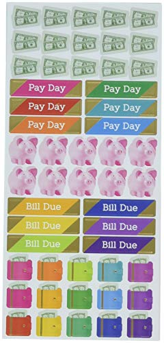 PAPER HOUSE Budget Life Organized Functional Stickers
