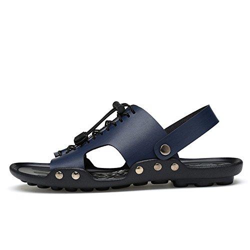 da Superficie Scivolo Casual Rivestiti Pantofola con Sandali Uomo Toe Scarpe Blu Cricket a da Doppia Anti qxAnwp1fC