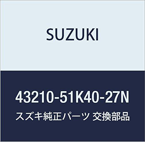 SUZUKI (スズキ) 純正部品 ホイール アルミ(15X5 1/2J)(シルバー) スプラッシュ 品番43210-51K40-27N B01LZWWPBL