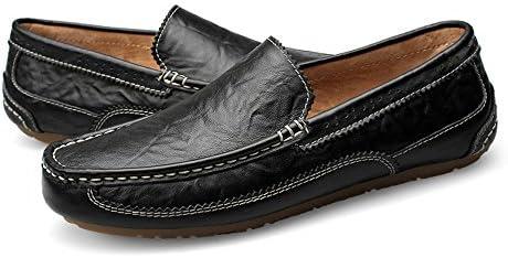 a2629f80da250 Amazon.com: Gobling Men's Casual Loafer Genuine Leather Bullock ...