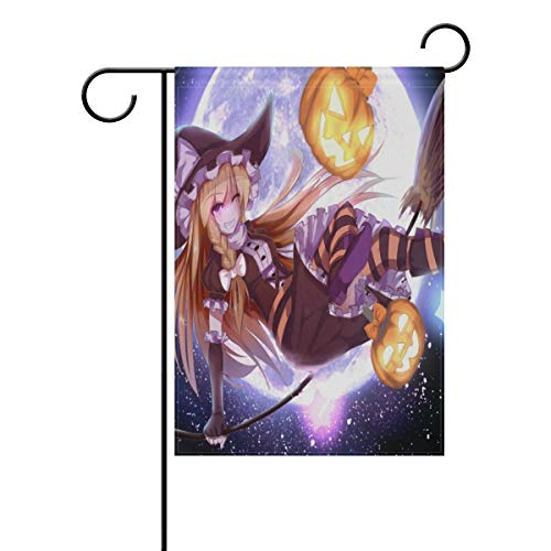 Pingshoes Custom Personalized Anime Halloween Wallpaper Garden Flag Outdoor Banner Decorative Large House Polyester Flags for Wedding Party Yard Home Decor Season Porch Lawn 28