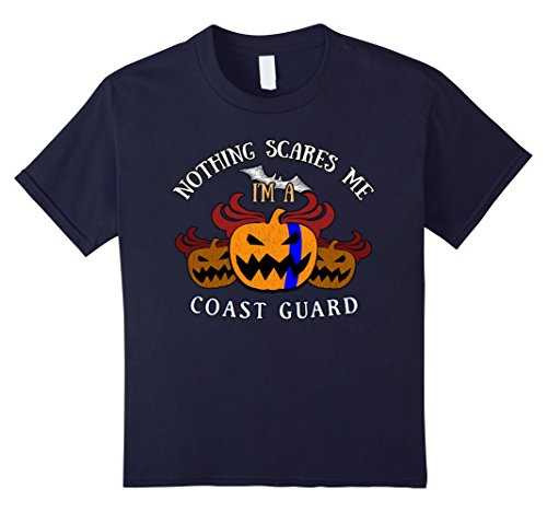 Coast Guard Girl Costumes (Kids Coast Guard Blue Line on Pumpkin for Halloween Party 6 Navy)