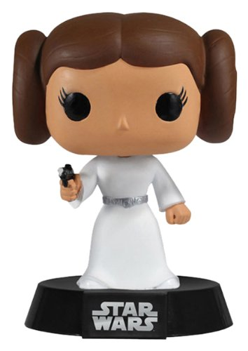 Funko POP Movie: Star Wars Princess Leia Bobble Head Vinyl - Rab Store Discount