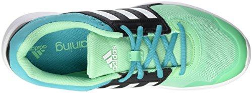 Blanco Noir Femme adidas Negro Briver Fun 38 Schwarz Ftwbla Verde Multicolore Chaussures Negbas de 5 Running EU 2 Essential BB0rxY6
