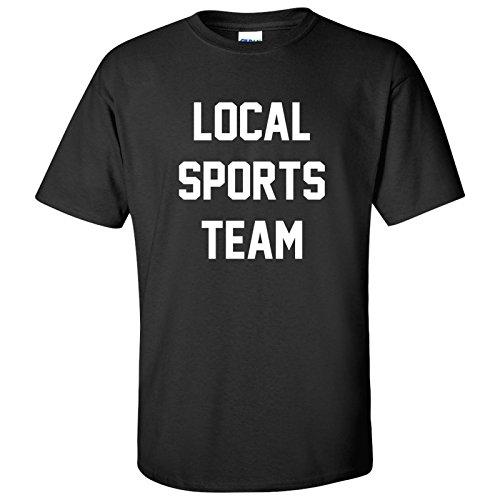 Block Local Sports Team Mens T-Shirt - Large ï¾- Black