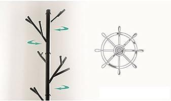 Amazon.com: Perchero/perchero de piso percha/de hierro/Sala ...