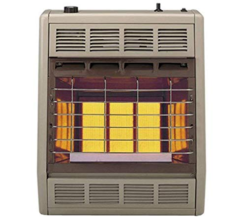Empire Infrared Heater Liquid Propane 18000 BTU, Thermostatic Control