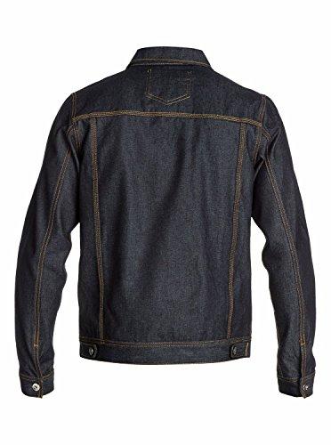 Quiksilver Men's The Denim Jacket Blue Xl