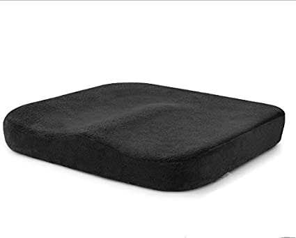 Cuscino Per Sedie Con Memory Foam Si Adatta Ad Ogni Seduta E Sedile Supporto Lombare Allevia Il Dolore Al Coccige Sciatalgia Anti Decubito Ideale Per Casa Ufficio 40 X 40 X 7