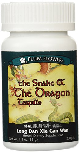 Snake & The Dragon (Long Dan Xie Gan Wan), 200 ct, Plum Flower -