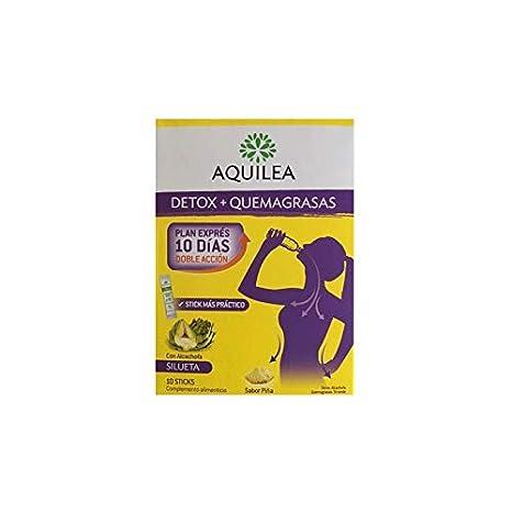 Aquilea detox quemagrasas 10 sticks.: Amazon.es: Salud y cuidado personal
