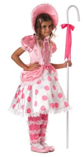 Girls Little Bo Peep Costume - Child Size 10  sc 1 st  Amazon.com & Amazon.com: Girls Little Bo Peep Costume - Child Size 10: Toys u0026 Games
