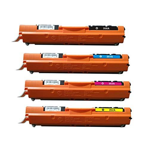 Y&Jack Compatible con Cartuchos de tóner Ce350a para HP Color Laserjet Pro MFP M177fw Color Drumsidge
