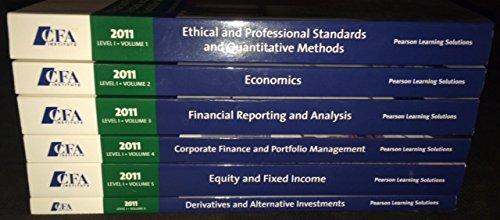 Ethical and Professional Standards and Quantitative Methods, Level 1, 2011 (CFA Program curriculum, Volume 1)