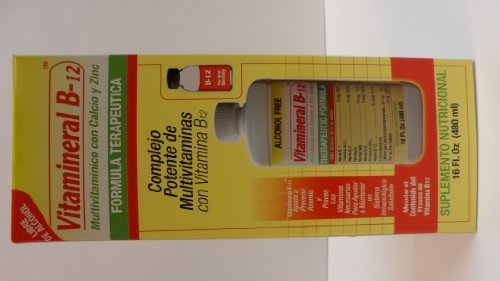 Vitamineral B-12 16FL.OZ (Vitaminerals Inc compare prices)