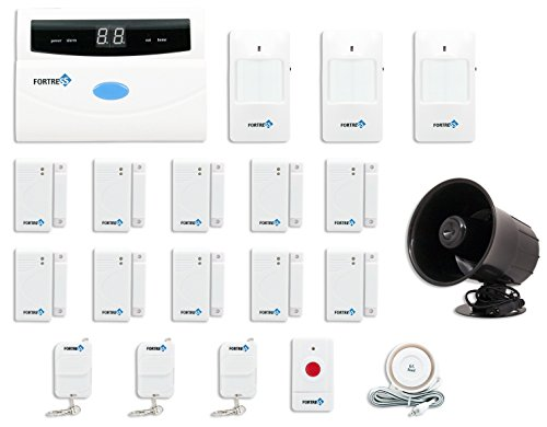Fortress Security Store (TM) S02-B Wireless Home and Business Security Alarm System DIY Kit with Auto Dial + Outdoor