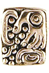 "Mayan Glyph Pendant ""U Mal"" symbolizing Scattering, sowing seeds for the future"