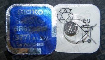 1 x Seiko Batteries All Sizes Available Button Cell Watch Batteries (SR626SW (377))