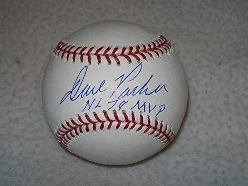 Nl Mvp Mlb Baseball - Dave Parker Inscribed Nl 78 Mvp Autographed Signed MLB Baseball Pirates - Certified Signature