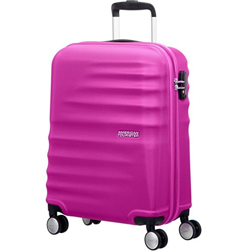 American Tourister Wavebreaker Spinner 55/20 Bagaglio a Mano, Hot Lips Pink, 36 ml, 55 cm 74133/B198